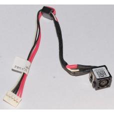 Разъем питания для ноутбука Dell Inspiron 3521, 5521, 5537, 3537 с кабелем