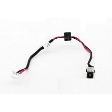 Разъем питания для ноутбука Toshiba Satellite C660, C660D, C850, C870, C870D, C875, C875D, L850, L875D, S855 с кабелем