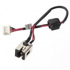 Разъем питания для ноутбука Asus K53E, K53U, K53T, K53E-BBR1, K53BY с кабелем